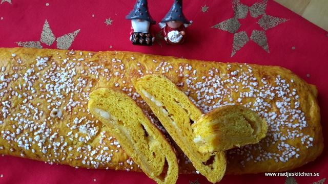 Saffranslängd med vit choklad - vvtillsammans-propoints-viktväktarna-saffran-vit choklad-jul-baka till jul - adventsbak