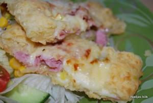 Fylld ostlängd - närbild