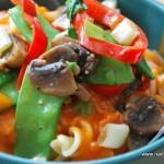 Pasta med tomatsås och grönsaker - propoints- viktväktarna