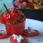 Köttfärsfylld paprika
