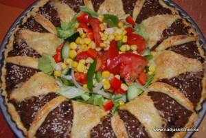 Köttfärspaj med franska smaker