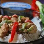 Thailändsk kyckling med grön curry