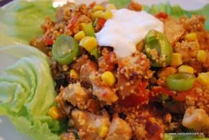 Mangocurry couscous med kyckling och grönsaker