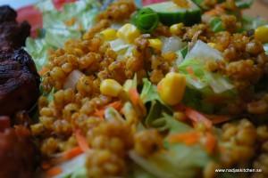 Matvetesallad med asiatisk touch
