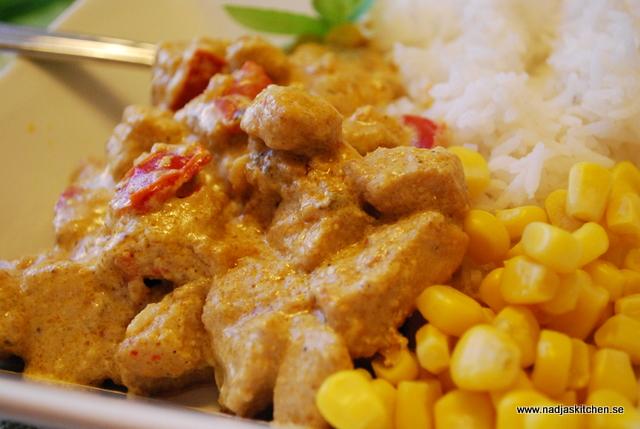 Krämig Chicken Korma