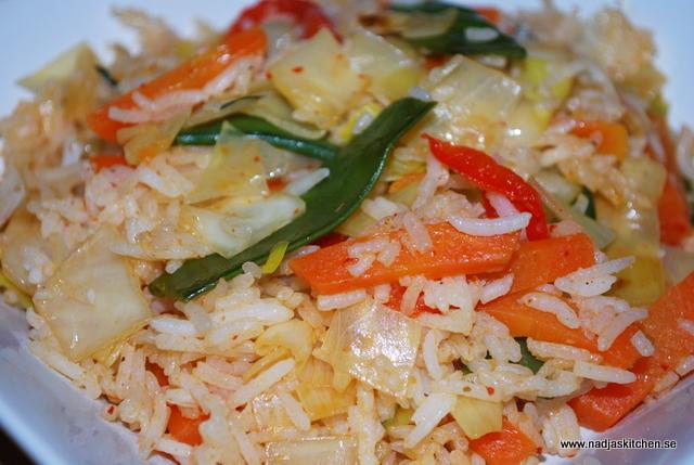 Ris med asiatisk touch