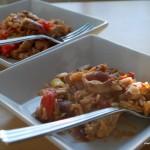 Skinkschnitzel med risoni