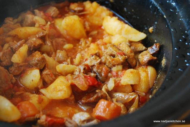 Filé- och potatisgryta