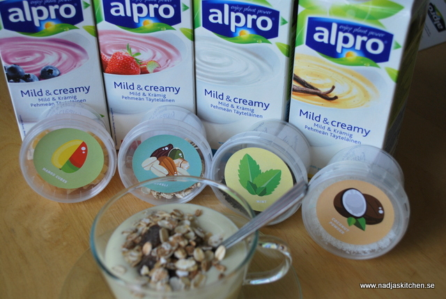 Alpro -mild and creamy yoghurt