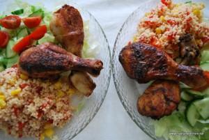 Allroundmarinerade kycklingben
