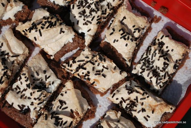 Chokladkaka med maräng