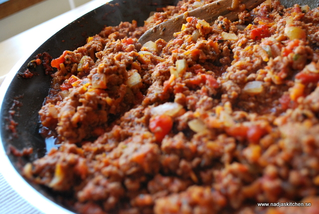 Köttfärssås a la viktväktarna - viktväktarna - pasta - propoints - vvkasse - viktväktarnas matkasse