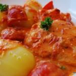 fisk- och paprikagratäng med ajvar - viktväktarna - propoints - vvkasse - viktväktarrecept - recept med propoints