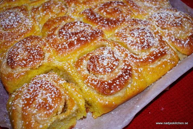 Saffransbutterkaka med mandelmassa-julbak-julen2014-julbaka2014-baka med viktväktarna-propoints-vvtillsammans-viktväktarna-nadjaskitchen.se-nadjaskitchen-butterkaka-saffran-mandelmassa