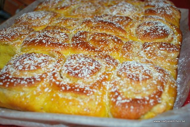 Saffransbutterkaka med mandelmassa - julbak - saffran - baka med viktväktarna-viktväktarna-propoints-