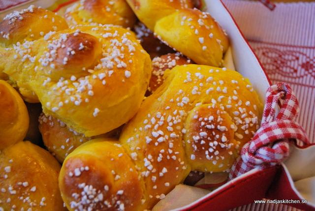 Lussekatter med pärlsocker - propoints-viktväktarna-julbak-lucia-advent