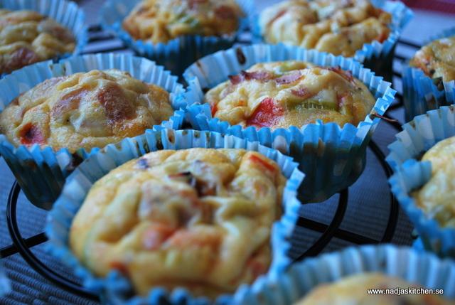 Äggmuffins - nadjaskitchen.se - mättande dag - viktväktarna - vvtillsammans - propoints - buffé