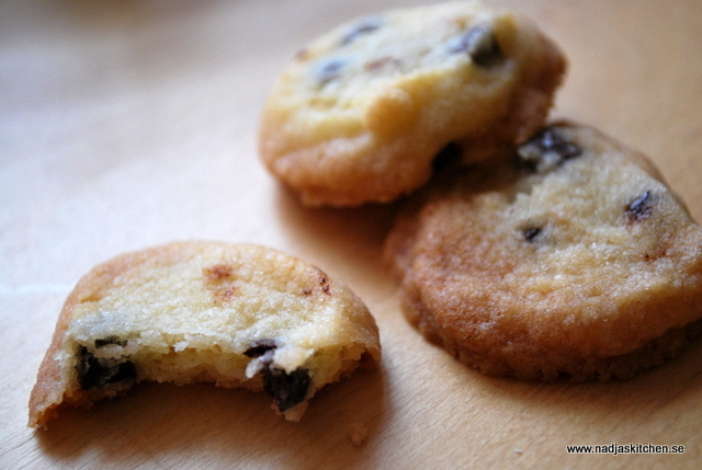 Små kakor med chokladbitar i- propoints-vvtillsammans-chocholate chunks-odense