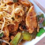 Phad Thai med kyckling
