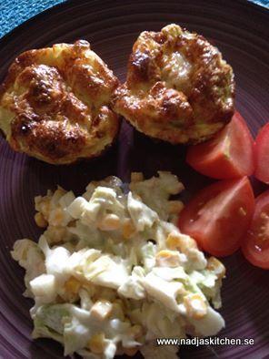 Äggmuffins med kyckling och keso - vvtillsammans - propoints