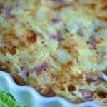 Mager Quiche Lorraine - skink och ostpaj - propoints - viktväktarna - mittviktväktarna -