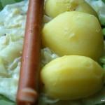 Varmkorv med stuvad vitkål - propoints - vvtillsammans- viktväktarna - mittviktväktarna - recept