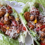 Smoky BBQ Chicken-propoints-tortilla-fullkorn-oldelpaso-majs-kyckling-vvtillsammans-viktväktarna-ost-paprika