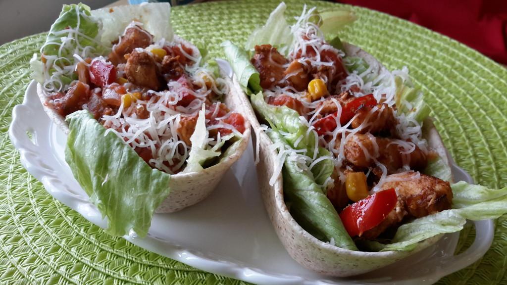 Smokey BBQ Chicken-propoints-tortilla-fullkorn-oldelpaso-majs-kyckling-vvtillsammans-viktväktarna-ost-paprika
