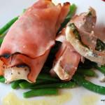 Skinkinlindad kyckling med färskost - smartpoints - viktväktarna - middag - kyckling
