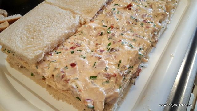 Club Sandwich tårta-smörgåstårta-tårta-smörgås-club sandwich-vvtillsammans-vvsmartmat-smartpoints-viktväktarna