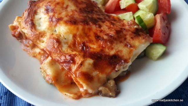 Aubergine och zucchinilasagne-vvsmartmat-viktväktarna-smartpoints-vegetariskt