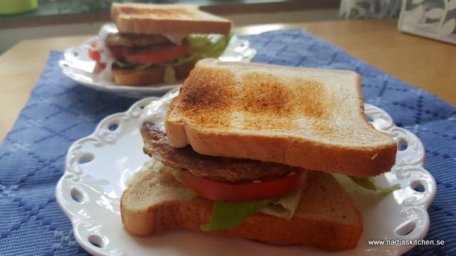 Snabblagad Quornburgare-vegetariskt-vvsmartmat-viktväktarna-smartpoints-quorn