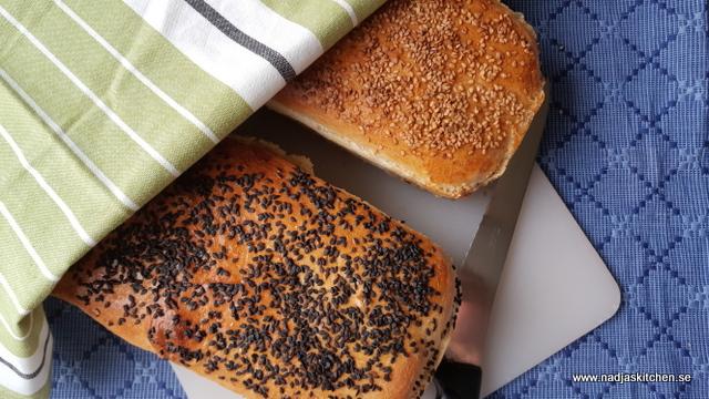 Formbröd med sesamfrön- vvsmartmat-smartpoints-formbröd-sesamgfrö-hembakat