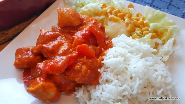 Kycklinggratäng med mango & curry-vvsmartmat-vvtillsammans-viktväktarna-smartpoints-weightwatchers-kyckling-gratäng-curry-mango